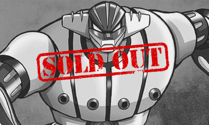 Workshops: Jeeg Robot and Stop-frame are sold out!